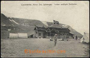 55687 - 1908 SVALBARD (Svalbard, Spitzbergen) - tourist base by/on/a