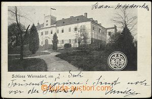 55694 - 1904 Vernéřov (Wernsdorf) - castle, sent to countess von A