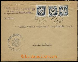55765 - 1942 letter from formation to Gen. inspectorate production f