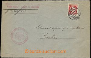 55768 - 1941 letter from formation to Gen. inspectorate production f