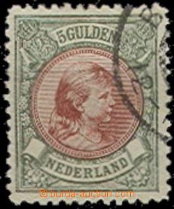 55824 - 1896 Mi.48 Wilhelmina, koncová hodnota, dobře zachovalá, kat