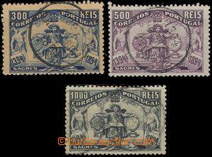 55847 - 1894 Mi.106-08,  500. narozeniny Jindřicha, koncové hodnoty,