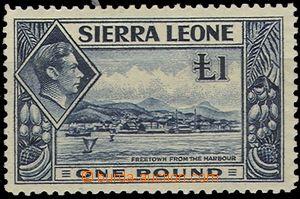 55863 - 1938 Mi.166 Jiří VI. a krajina, koncová hodnota, pěkná