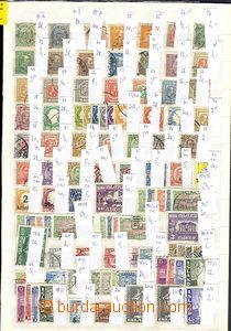55879 - 1882-1978 sestava známek na plném výmětovém listu A4, p