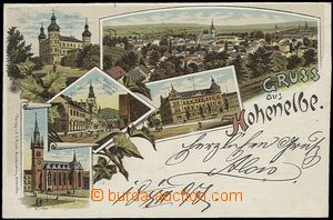 55917 - 1897 Hohenelbe (Vrchlabí) - color collage lithography, 5-vi