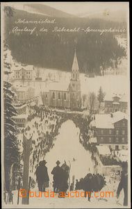 55918 - 1930? Johannisbad (Janské bath) -  B/W real photo doskoči�