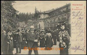 55924 - 1904 Marienbad (Mariánské Lázně ) - colonnade, collage,