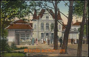 55926 - 1925? Košice - railway-station, Un, well preserved