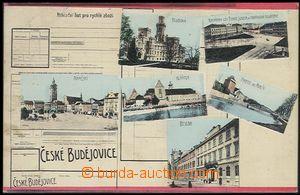 55928 - 1919 České Budějovice - 6-okénková koláž jako tiskopi
