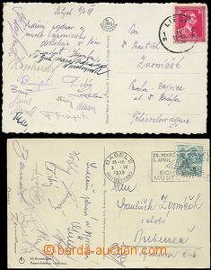 55952 / 4219 - Autogramy, rukopisy