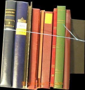 55988 - 1950-90 EUROPE  množství známek v 10ks zásobníků, hmot