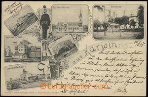 56144 - 1899 Karviná (Karwin) - 6-okénková koláž, pivovar, nád