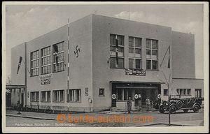 56153 - 1940 Nýřany / Nürschan (PS), slavnostní výzdoba stranického