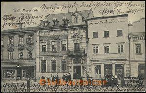 56162 - 1910 Valašské Meziříčí - Casino, lidé před budovou;