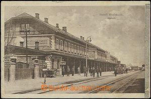 56167 - 1914 Veselí nad Lužnicí - railway-station; Us, pulled-dow