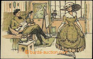 56177 - 1911 celebration bohémy, VI. carnival artists, national the
