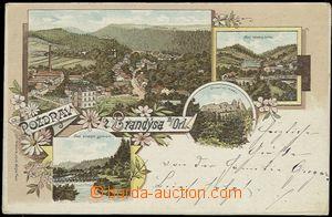56182 - 1898 Brandýs nad Orlicí - litografická koláž; DA, proš