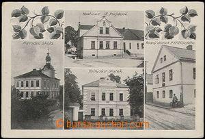 56190 - 1925 Holasovice - 4-views, pub Ž. Prejdové, school, Foltys