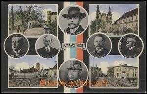 56209 - 1920 Strážnice - obrázková koláž s podobenkami politik