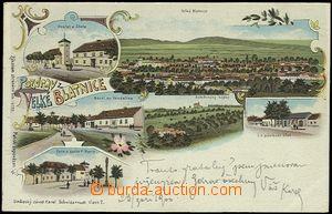 56224 - 1900 BLATNICE POD SVATÝM ANTONÍNKEM - litografická kolá�