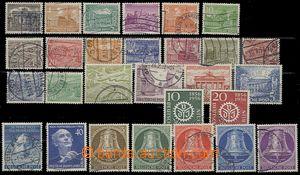 56335 - 1949-53 sestava ražených známek (kompl. série), Mi.42-60