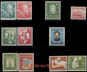 56338 - 1949-56 sestava známek Mi.111-2, 149, 152, 153-4, 155, 171-