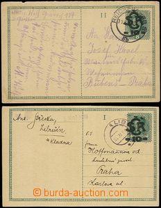 56440 - 1919 CDV2a, Large Monogram - Charles, I. and II. part, both