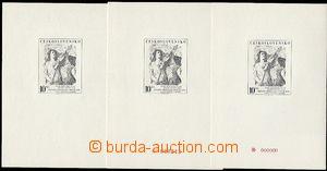 56551 - 1978 PT12a+b+c Praga '78, special commemorative print number