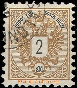 56664 - 1883 LEVANT  Mi.8 Eagle, 2sld., light postmark through/over