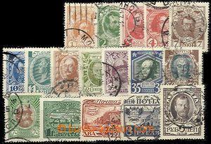 56683 - 1913 Mi.82-98, Romanovská dynastie, pěkná kvalita známek