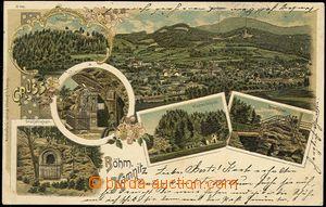 56759 - 1900 Česká Kamenice (Böhm. Kamnitz) - litografická kolá
