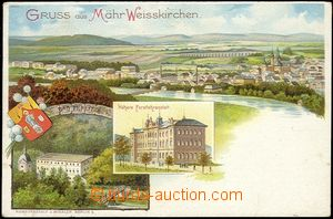 56768 - 1900 Hranice, Teplice n. B. - lithography; long address, Un,
