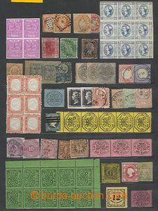 56805 - 1865-90 EUROPE  sestava 135ks různých zn., novotisků i pa