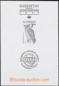 56847 - 1995 příležitostný tisk Zsf.36PTb, s přítiskem Pofis,