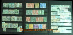 56864 - 1946-51 BRITISH COLONIES  partie známek britské pošty v z