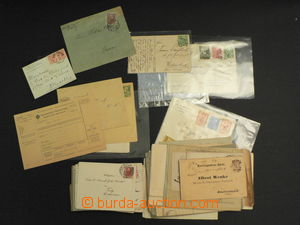56867 - 1870-1917 AUSTRIA  selection of more than 90 pcs of letters