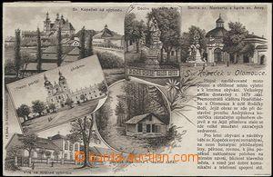 56899 - 1919 Svatý Kopeček - litografická koláž s textem; proš