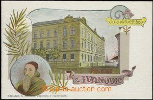 56902 - 1905 Ivanovice na Hané - obrazová koláž, J. A. Komenský