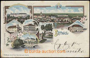 56927 - 1900 Brtnice - litografická koláž; DA, neprošlá, odřen