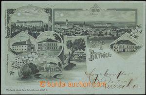 56928 - 1900 Brtnice - litografická koláž, zelený odstín; DA, n
