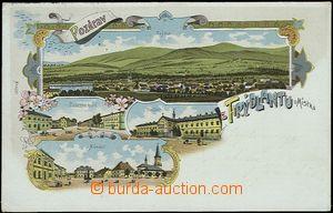 56930 - 1906 Frýdlant nad Ostravicí - litografická koláž, žele