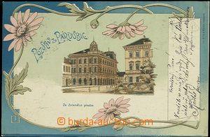 56946 - 1899 Pardubice - 1záběrová litografická koláž; DA, pro