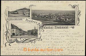 56966 - 1900 Česká Třebová - 3okénková, nádraží; DA, prošl