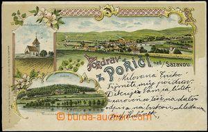 56969 - 1903 Poříčí nad Sázavou - lithography, Arcivévodské f