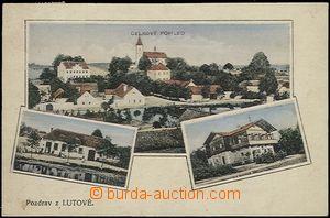 57023 - 1920 Lutová - 3-views, shop Jacob Štecha, villa, general v