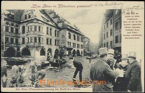 57061 - 1905 München - pivní povodeň, koláž; prošlá, lehce om
