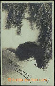 57063 - 1925 DRTIKOL František (1883–1961), vánoční motiv s pa