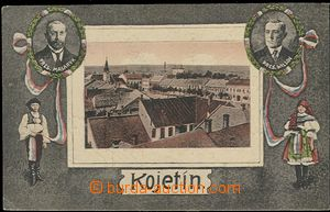 57068 - 1920 Kojetín - one view view of town, in/at ovals T. G. Mas