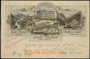 57069 - 1899 Hochfinstermünz - Hotel und Pension Josef Geiger, Luft