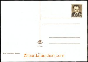 57214 - 1951 CPH50/7 PC with shifted print on/for address part/-s, n